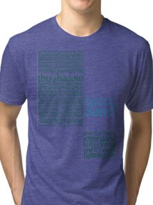 The Two Towers-- Sam's Speech Tri-blend T-Shirt