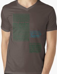 The Two Towers-- Sam's Speech Mens V-Neck T-Shirt