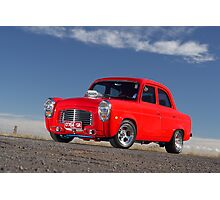 Red 1955 Ford Prefect Photographic Print