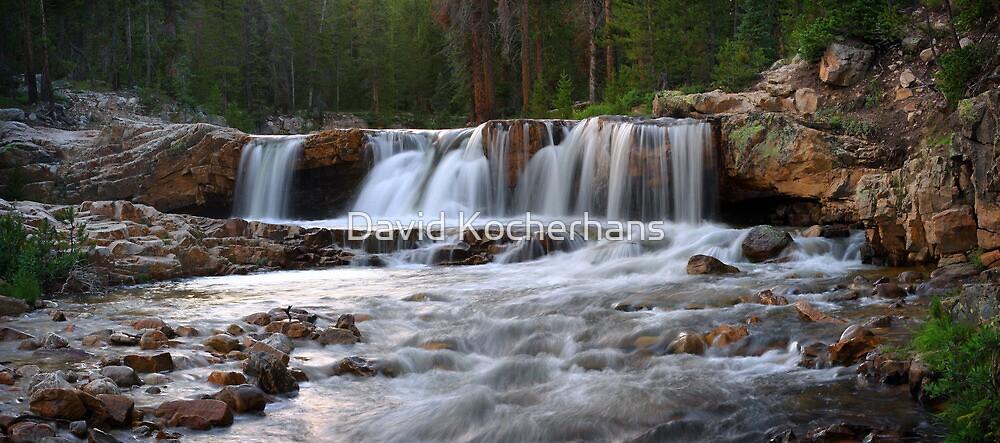 River Falls Panorama by David Kocherhans