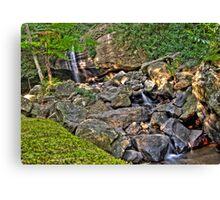 Buderium Falls HDR Canvas Print