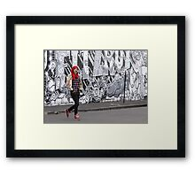 A Touch of Red Framed Print