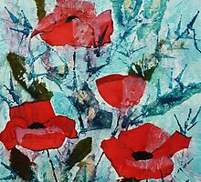Summer poppies by © Pauline Wherrell