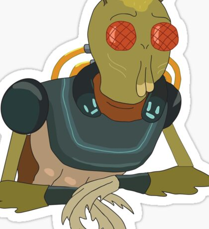 Rick and Morty: Krombopulos Michael Sticker