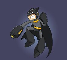 Mega Batman by Toni Johnson