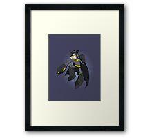 Mega Batman Framed Print