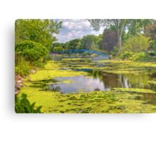 Lakeside Park Lagoon-2 Metal Print