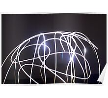 Light Painting Poster