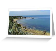 Half Moon Bay - Black Rock - Victoria - Australia Greeting Card