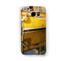 Yellow Boat Reflection Samsung Galaxy Case/Skin