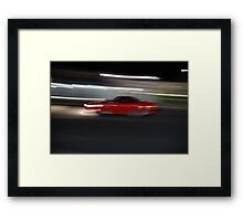 Life in a Wormhole Framed Print