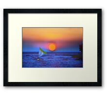 Silence of Color Framed Print