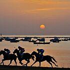 Sanlucar de Barrameda Horse Races by fototaker
