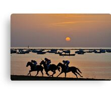 Sanlucar de Barrameda Horse Races Canvas Print