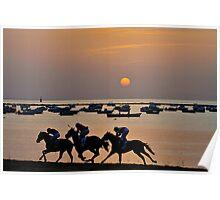 Sanlucar de Barrameda Horse Races Poster
