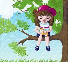 In A Tree by oksancia