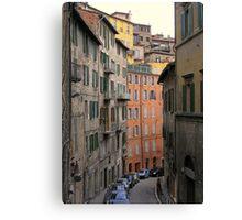The Via Galeazzo Alessi, Perugia, Italy Canvas Print