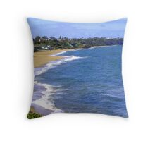 Sandringham Beach -  Victoria - Australia Throw Pillow