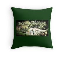 """PRBA: Professional Redneck Bowler's Association""... prints and products Throw Pillow"