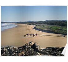 Boambee Beach Poster