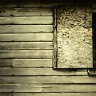 Old Barn Wall by Kevin Miller