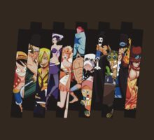 one piece strawhats luffy zoro sanji sabo ace anime manga shirt by ToDum2Lov3