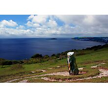 Looe Bay, Cornwall Photographic Print