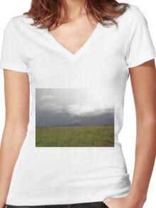Donegal Fire Cracker  (Ireland) Women's Fitted V-Neck T-Shirt