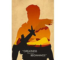 Greatness from small beginnings Photographic Print