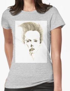 """""""Oui, je suis chic."""" Womens Fitted T-Shirt"""