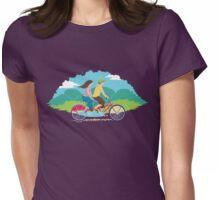 Tandem Bike Trip Womens Fitted T-Shirt