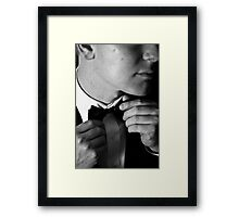 Ready to Commit Framed Print