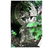 Monks Headstone Poster