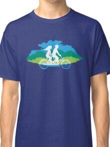 Tandem Bike Trip Classic T-Shirt