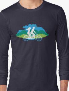 Tandem Bike Trip Long Sleeve T-Shirt