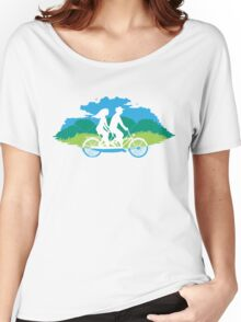 Tandem Bike Trip Women's Relaxed Fit T-Shirt
