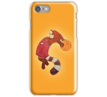 Red Panda Basketball iPhone Case/Skin