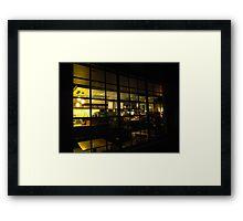 Starbucks Afterhours Framed Print