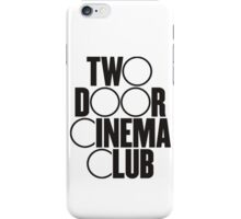 Two Door Cinema Club iPhone Case/Skin