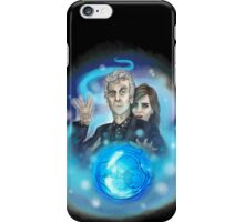 Twelfth Doctor and Clara iPhone Case/Skin