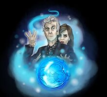 Twelfth Doctor and Clara by AlexRipper