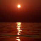 Aegean Sunset by photoloi