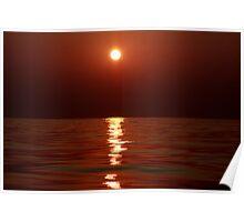 Aegean Sunset Poster