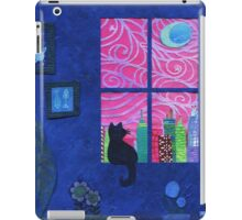 Cici gazing at the moon iPad Case/Skin