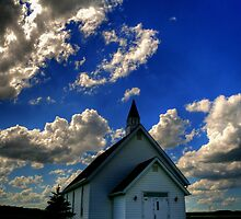 Church on the Prairies by Larry Trupp