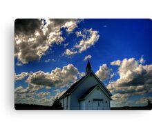 Church on the Prairies Canvas Print
