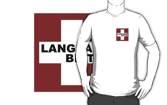Swiss Flag (pocket-size) Langsam Bitte by emilykperkin