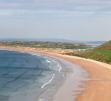 Rhossili beach by MikeYoung