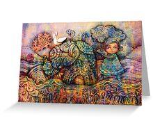 Rainbow Warriors of Bubblegum Bay Greeting Card