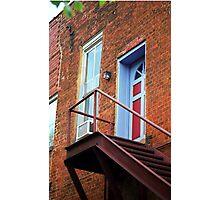 Jonesborough, Tenessee - Upstairs Neighbors Photographic Print
